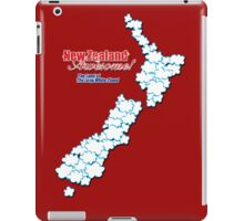 The Land of The Long White Cloud, New Zealand iPad Case/Skin