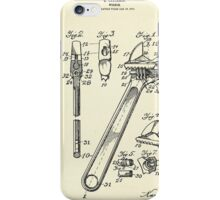 Wrench-1915 iPhone Case/Skin