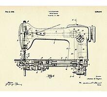 Sewing Machine-1946 Photographic Print