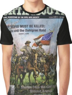 VINTAGE POSTER : CIVIL WAR NORTH & SOUTH Graphic T-Shirt