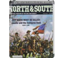 VINTAGE POSTER : CIVIL WAR NORTH & SOUTH iPad Case/Skin