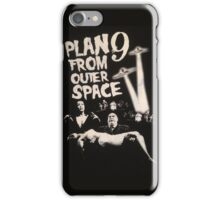 Plan 9 from outer space - the movie iPhone Case/Skin