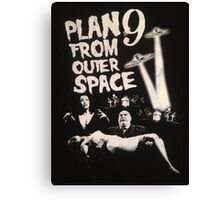 Plan 9 from outer space - the movie Canvas Print