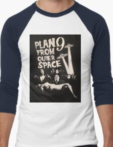 Plan 9 from outer space - the movie Men's Baseball ¾ T-Shirt
