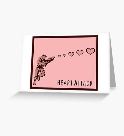 Master Chief Heart Attack Greeting Card