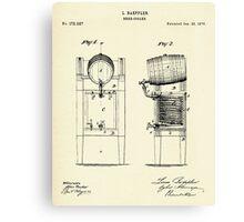 Beer Cooler-1876 Canvas Print