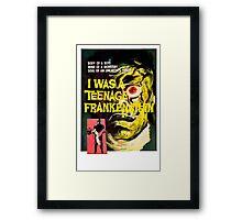 I was a teenage frankenstein - the movie Framed Print