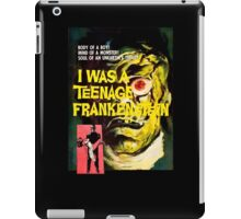 I was a teenage frankenstein - the movie iPad Case/Skin