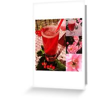 Pink Summer Greeting Card