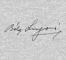 Bela Lugosi signature One Piece - Long Sleeve