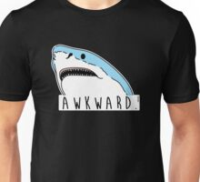 Awkward Shark Unisex T-Shirt