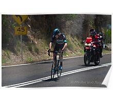 Chris Froome, 2016 Jayco Herald Sun Tour, stage 4 Arthur's Seat Poster