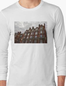 Admiring London's Victorian Architecture - Montagu Mansions, Marylebone  Long Sleeve T-Shirt