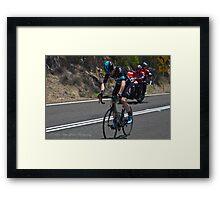 2016 Jayco Herald Sun Tour, stage 4 Arthur's Seat Framed Print