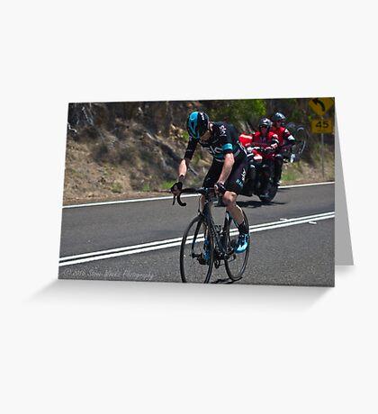 2016 Jayco Herald Sun Tour, stage 4 Arthur's Seat Greeting Card