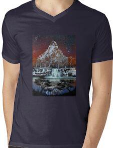 Night on the Lake Mens V-Neck T-Shirt