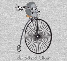 old school biker Baby Tee