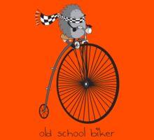 old school biker Kids Tee