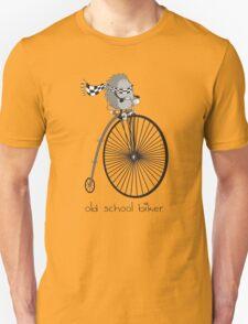 old school biker Unisex T-Shirt