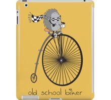 old school biker iPad Case/Skin