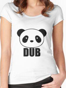 PANDA DUB Women's Fitted Scoop T-Shirt