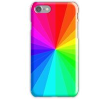 The Rainbow Spectrum, Wheel of Colors/Colours iPhone Case/Skin