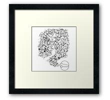 Doodlemon Framed Print