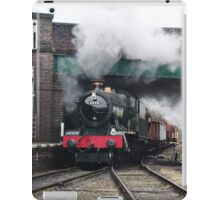Vintage Steam Railway Train at the Station iPad Case/Skin