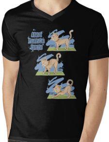 A Basic Pilates Cat Exercise Mens V-Neck T-Shirt