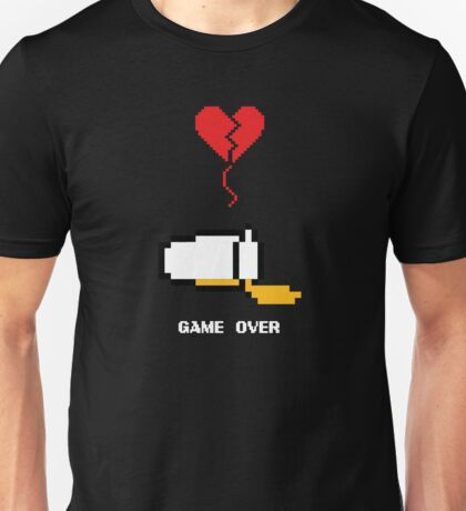 Beer's over, game over. Unisex T-Shirt