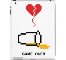 Beer's over, game over. iPad Case/Skin