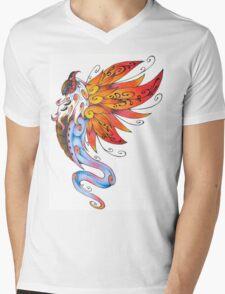 Volcarona Mens V-Neck T-Shirt