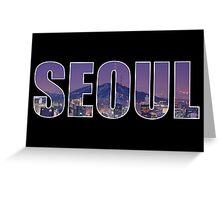 Seoul Greeting Card
