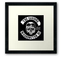 The Saviors Framed Print