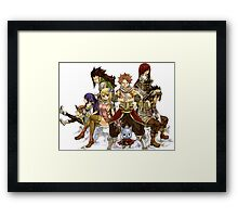 RPG Heroes Framed Print
