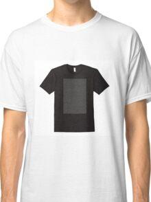 The Bee Movie Script Shirt Shirt Classic T-Shirt