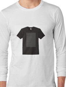 The Bee Movie Script Shirt Shirt Long Sleeve T-Shirt