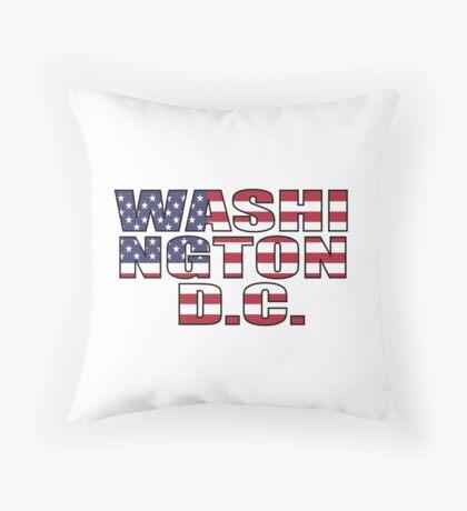 Washington D.C Throw Pillow