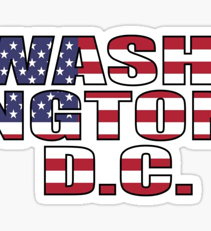 Washington D.C Sticker