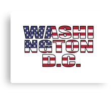 Washington D.C Canvas Print