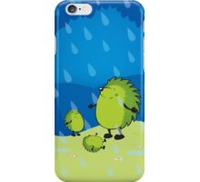 happy when it rains iPhone Case/Skin