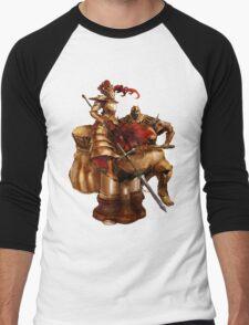 Ornstein & Smough Men's Baseball ¾ T-Shirt