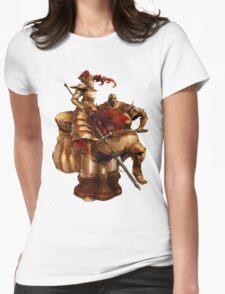Ornstein & Smough Womens Fitted T-Shirt