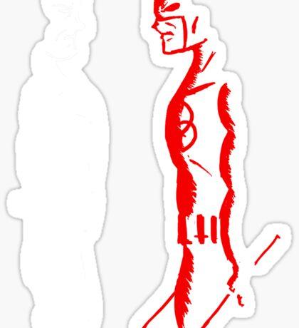 The Devil vs The Psycho Sticker