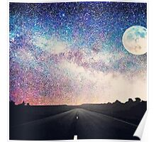 night view landscape  Poster