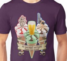 Three Flavours Cornetto Trilogy with banner Unisex T-Shirt