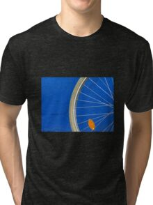 Bike Wheel Tri-blend T-Shirt