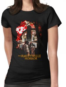 Amityville Horror Movie T-Shirt Womens Fitted T-Shirt