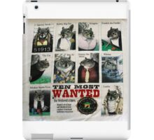 Ten Most Wanted!!! iPad Case/Skin