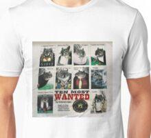 Ten Most Wanted!!! Unisex T-Shirt